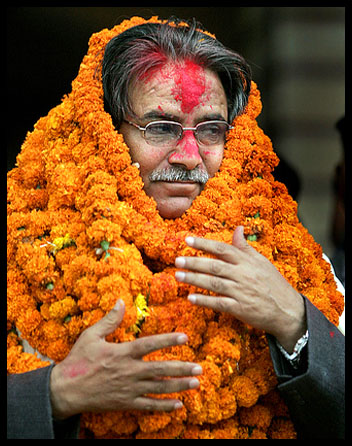 Prachanda-garlands