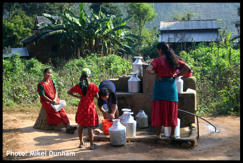 Women at well