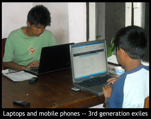 -laptops and mobile phones-3rd generation exiles