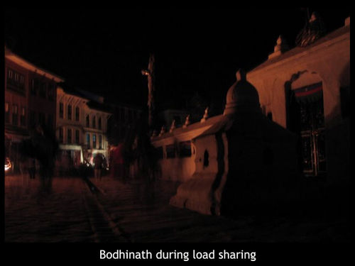 Bodinath in the dark