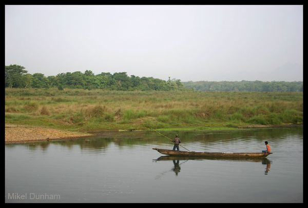 3-Madhes men in boat