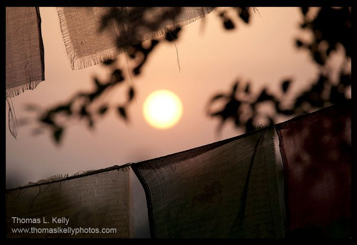 03-sunrise-prayer flags